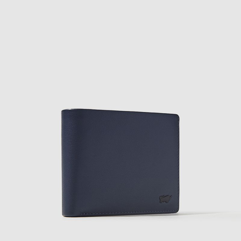 NEWNOMAD CENTRE-FLAP CARD WALLET WITH COIN COMPARTMENT
