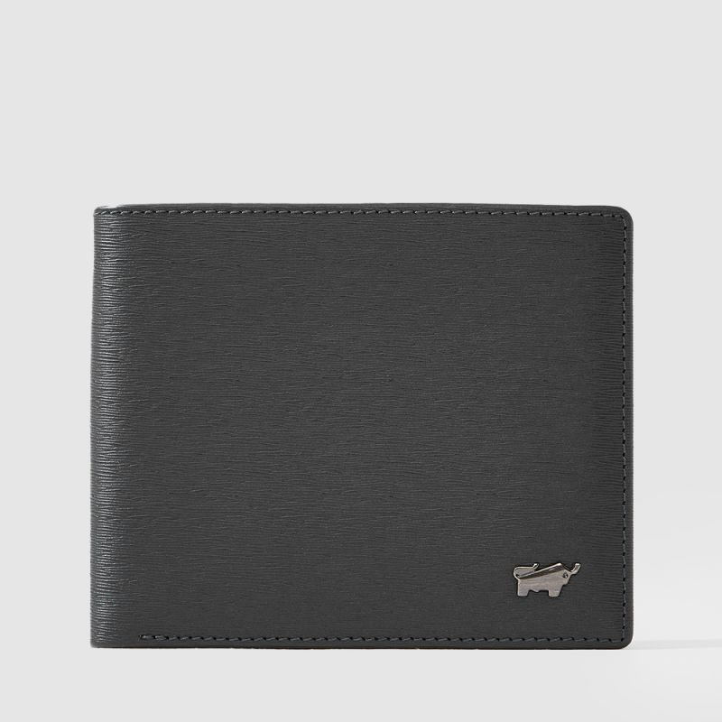 BOSO CENTRE FLAP WALLET WITH COIN COMPARTMENT