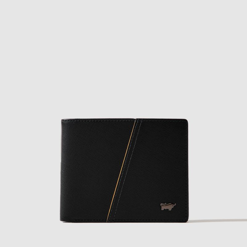 ICONIC CENTRE FLAP WALLET WITH COIN COMPARTMENT