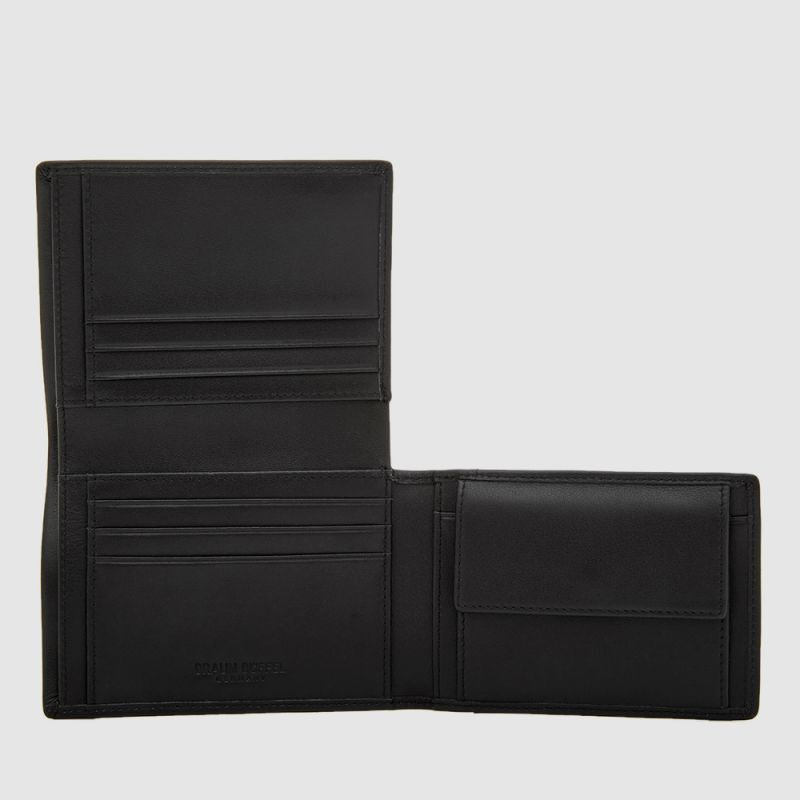 NEWNOMAD SLIDE FLAP WALLET WITH COIN COMPARTMENT