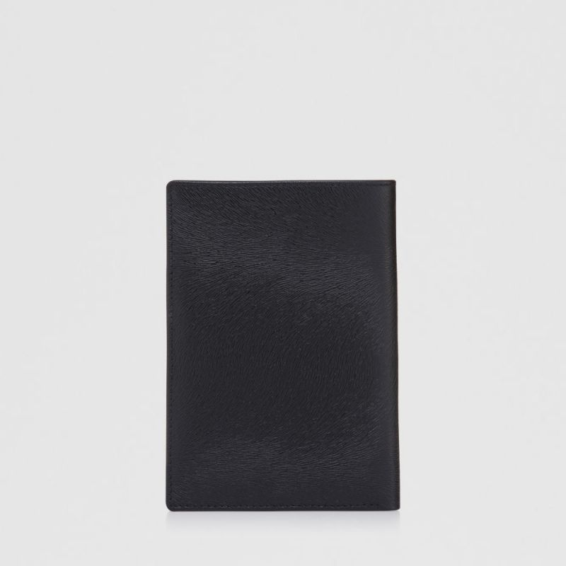 SICHER PASSPORT HOLDER WITH NOTES COMPARTMENT