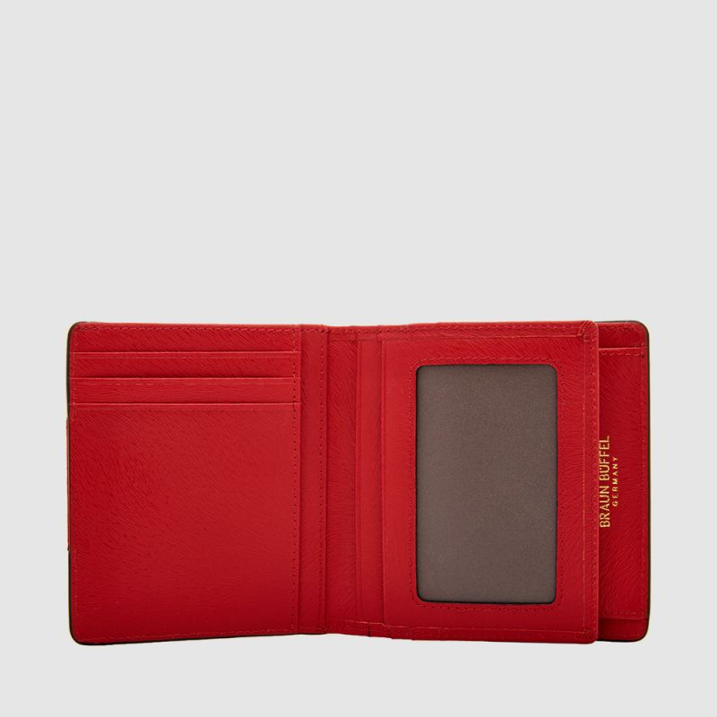 SUPERSTAR 2 FOLD CENTRE FLAP SMALL WALLET WITH COIN COMPARTMENT