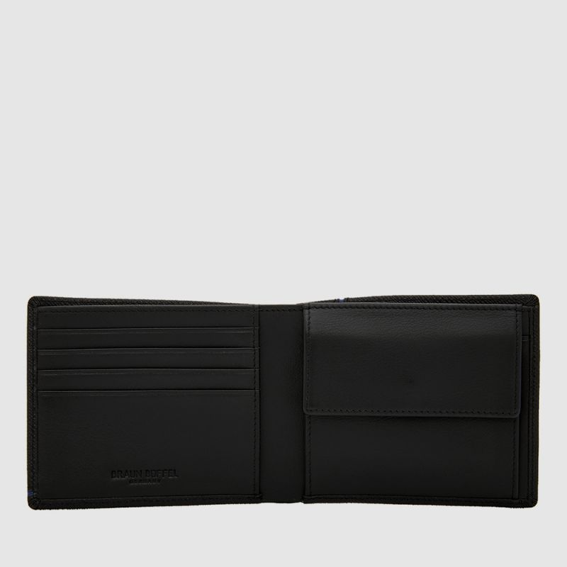 VIKTOR WALLET WITH COIN COMPARTMENT