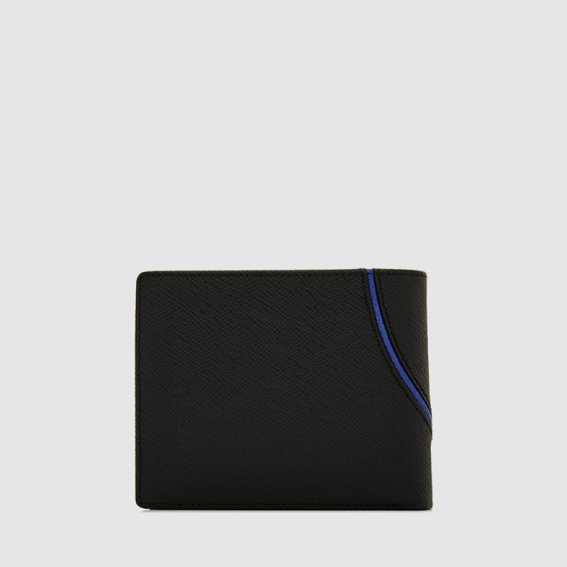 VIKTOR CENTRE FLAP WALLET WITH COIN COMPARTMENT