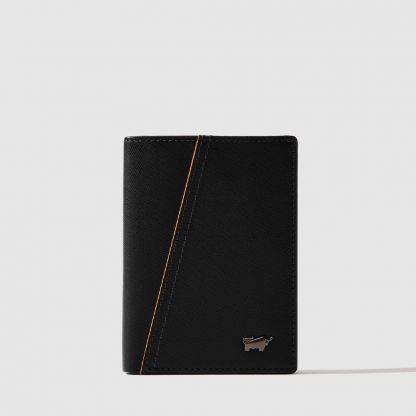 ICONIC CENTRE-FLAP CARD HOLDER