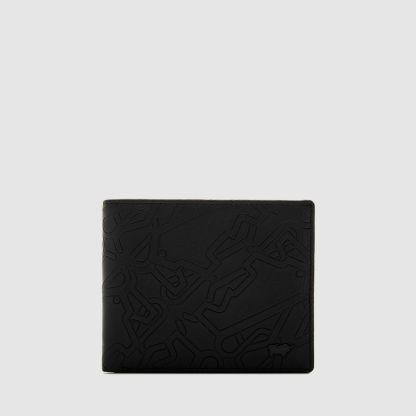 BONVILLE CENTRE-FLAP CARDS WALLET