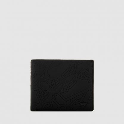 BONVILLE CENTRE-FLAP WALLET WITH COIN COMPARTMENT