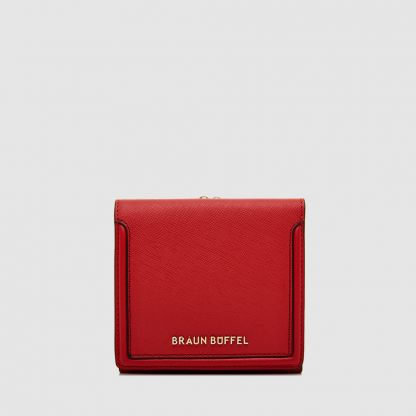 SECRET 2 FOLD SMALL WALLET WITH EXTERNAL CLASP PACKET