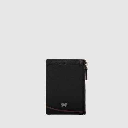 VIKTOR FLAT CARD HOLDER WITH KEY RING