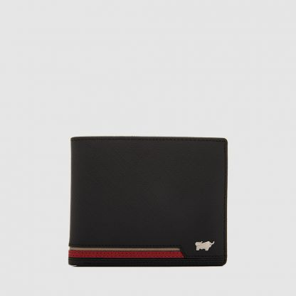 BIG MONEY CENTRE FLAP WALLET WITH COIN COMPARTMENT